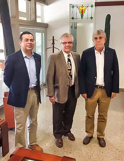 Dean Frank Visits the University of Antioquia
