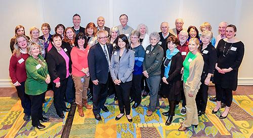 Photo Alumni social at the Coast Capri Hotel in Kelowna, BC