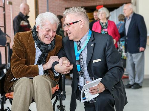 Photo Dr. Gordon Smith and Dean Frank