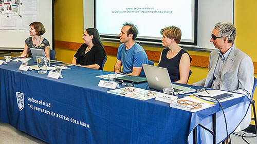 Photo CRC panel during Research Week