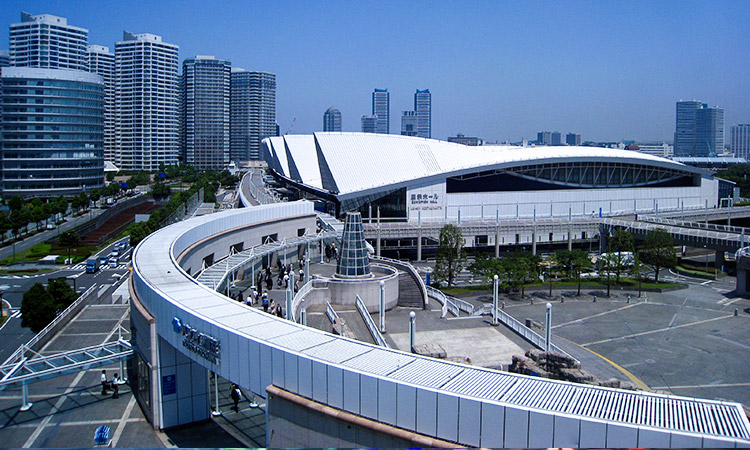 PACIFICO Yokohama Convention Centre. Photo: ignis via Wikimedia Commons.