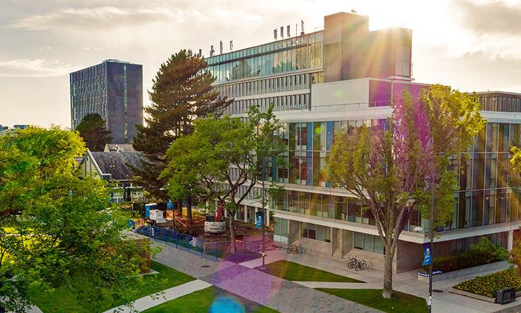 Sauder Building, UBC Vancouver campus.
